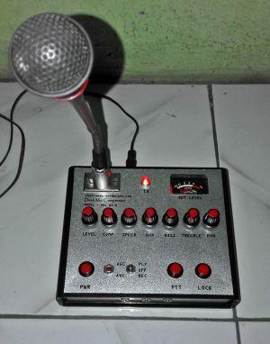 MIC COMPRESSOR AGC IC LA3210